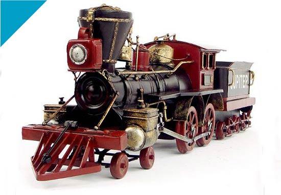 Black Large Scale Handmade U.S. 1880 Zeus Steam Locomotive ...